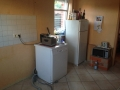 Die letzten Reste der Küche Juli 2014