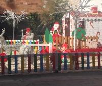 Weihnachtslandschaft für Kids in Garrucha