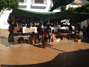 Markt in Lubrin