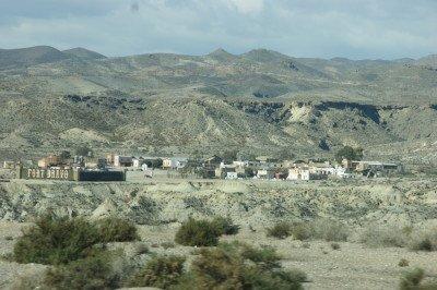 Die Wüste von Tabernas