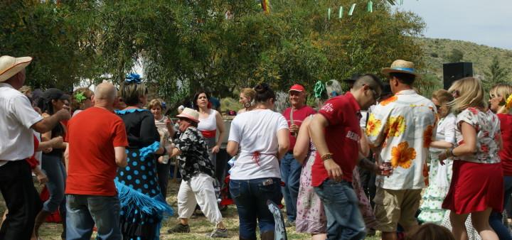 Cruz de Mayo, Fiesta Lubrin Andalusien