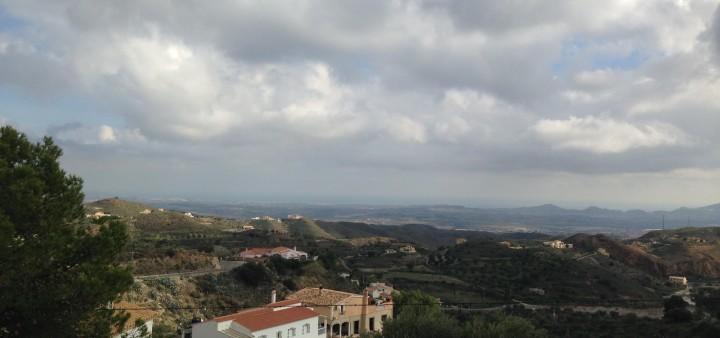 Regen, Andalusien,