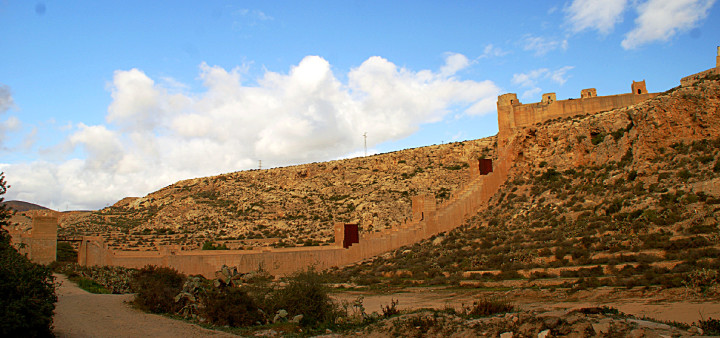 Alcazaba Almeria, Muralle de Jayrán