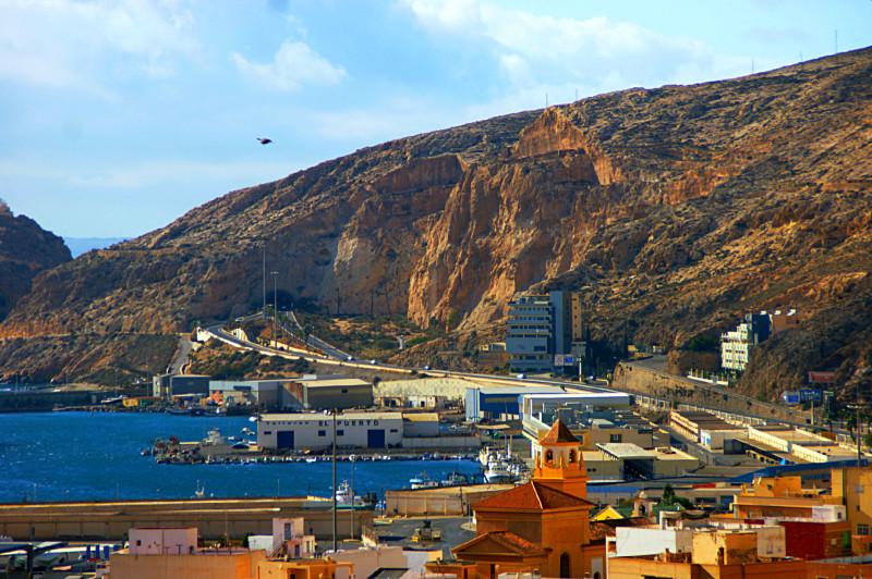 Alcazaba Almeria – über den Dächern der Stadt