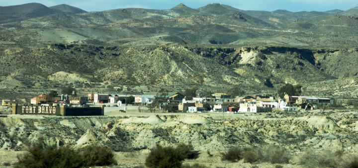 Wüste Tabernas, Ausflugsziele Almeria