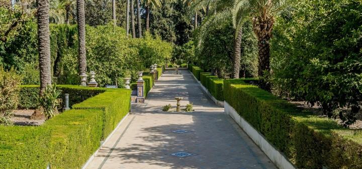Gärten Sevilla