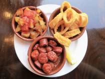Tapas: Chorizo mit Pimientos