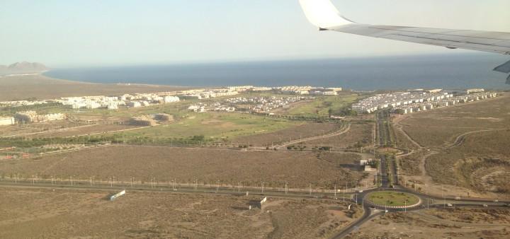 Ryanair Anflug Andalusien