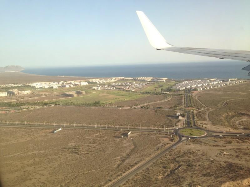 Flug in die neue Heimat