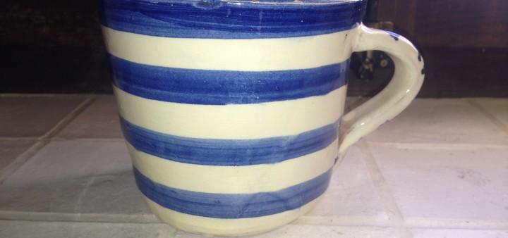 Teepott aus der Alfareria Los Puntas