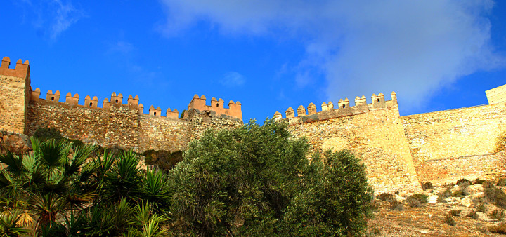 Alcazaba Almeria Aussenansich