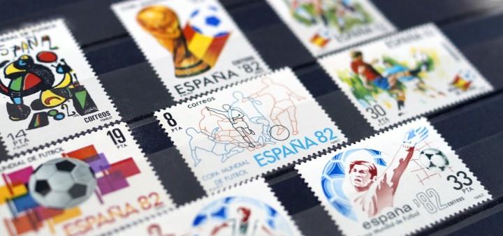 Briefmarken Fussball