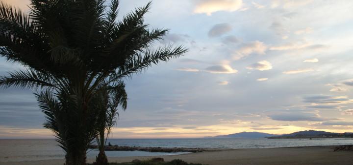 Strand von Aguilas