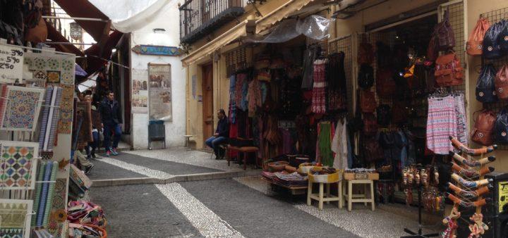 kleine Gassen in Granada