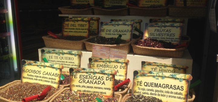 Gewürz-Shops Granada