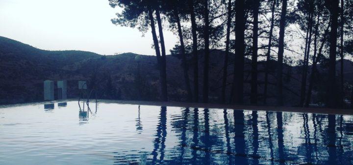 Urlaub in Andalusien am Dorfpool mit traumhafter Aussicht