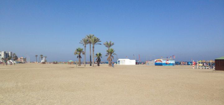 Roquetas de Mar Playa Luna Strand