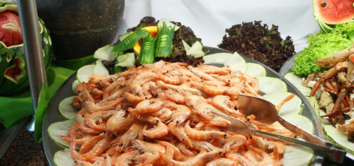 Fisch Gerichte am Playa La Serena