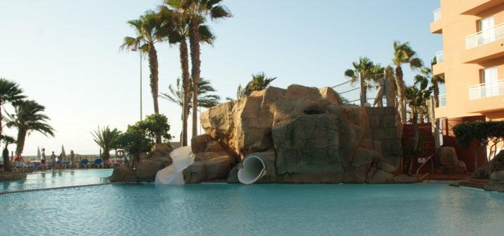 Roquetas de Mar Playa Luna Kinderpool mit Rutschen