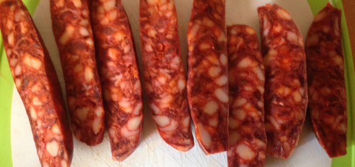 gebratene Chorizo