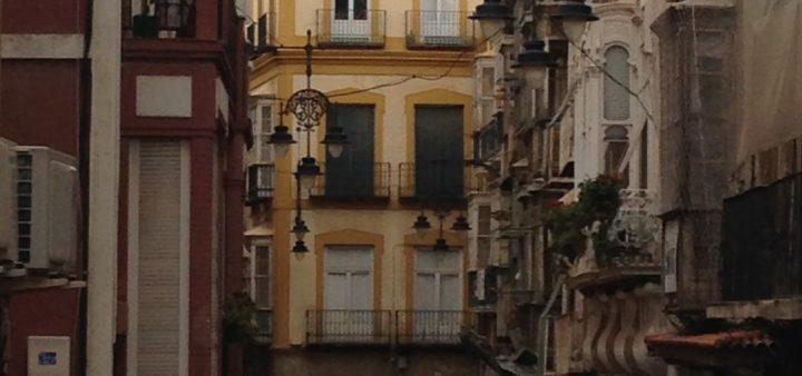 Calle Major Seitenstraße in Cartagena