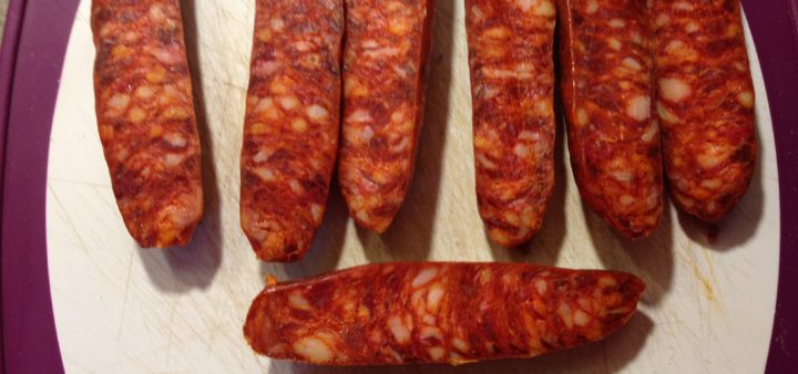 Migas mit Chorizo