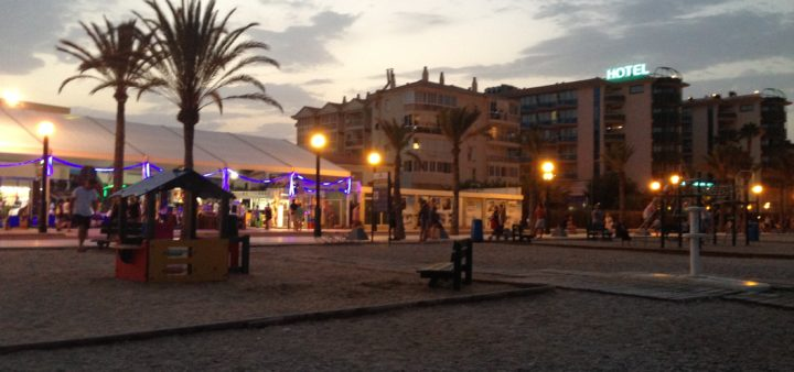 Albir Strand Promenade