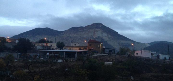 Der Blick auf unserer Siedlung