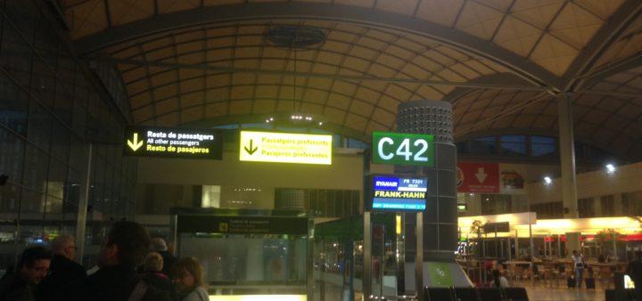 Flughafen Alicante