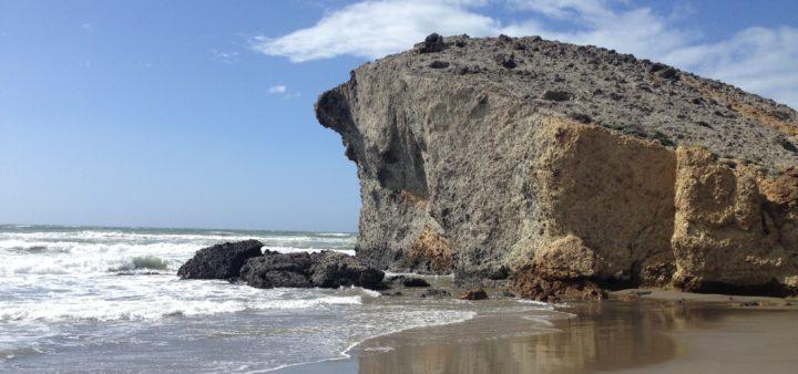 Felsen am Playa Monsul