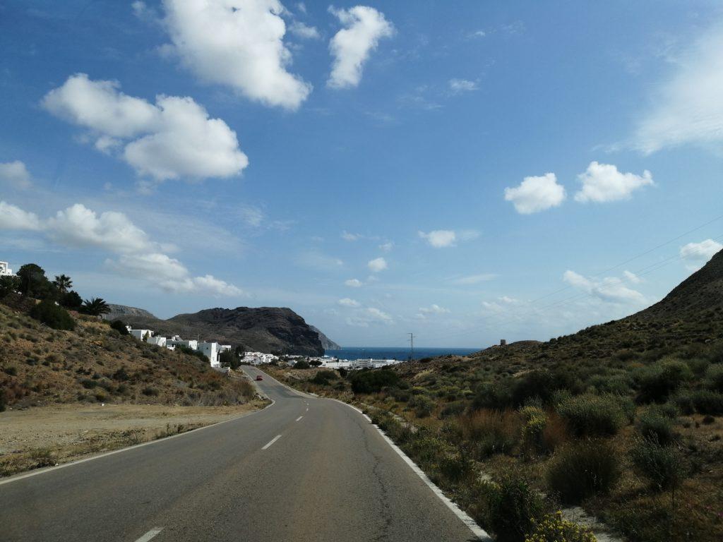 Der Weg nach Las Negras bei der Cabo de Gata Tour