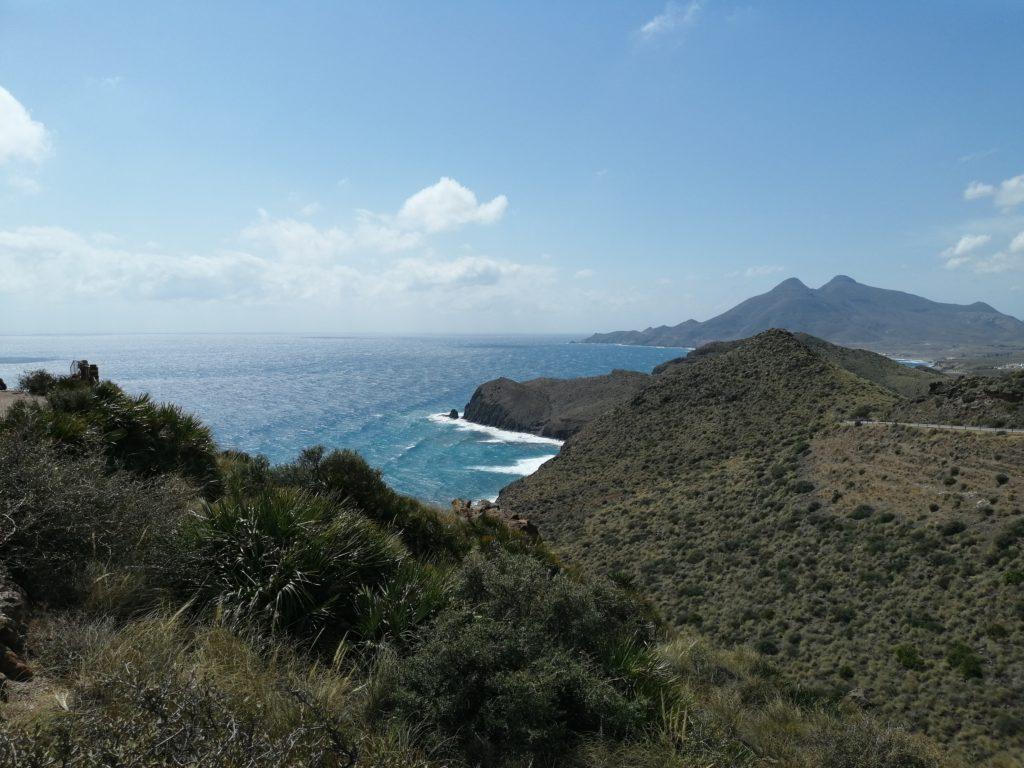 Traumhafte Aussicht bei der Cabo de Gata Tour