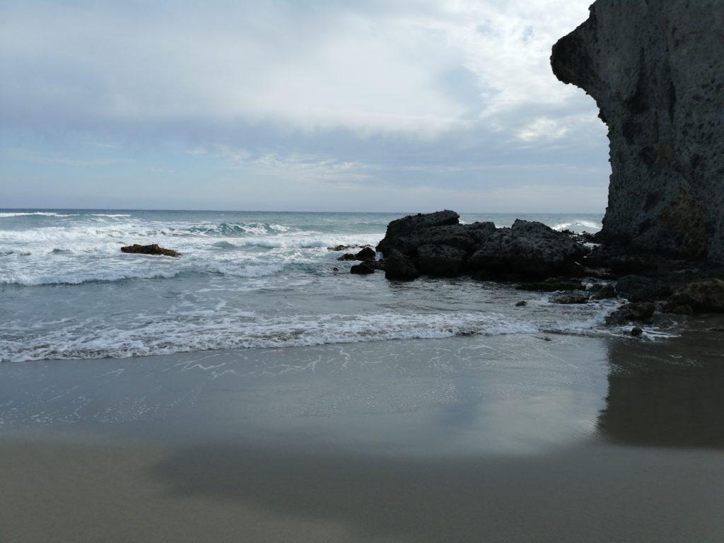 Playa Monsul bei schlechtem Wetter