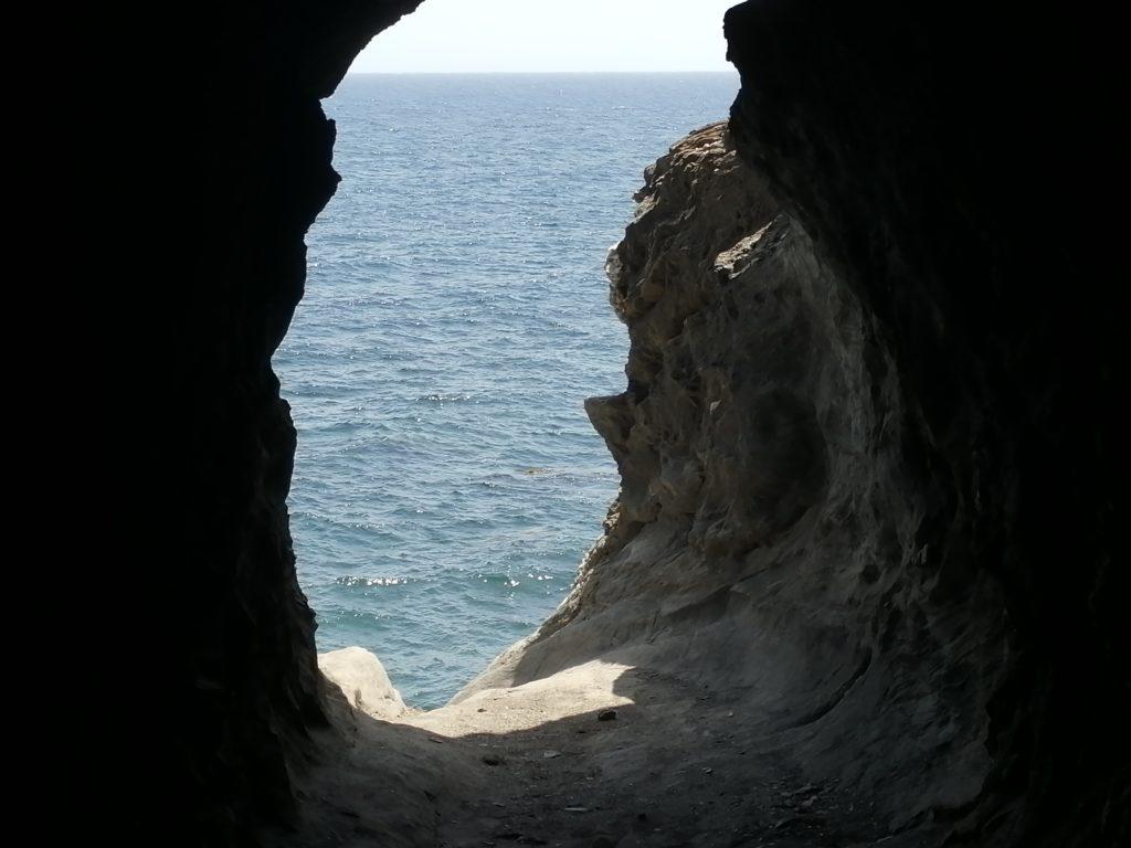 Strände in Cuevas del Almanzora - Cala Peñón Cortado, der falsche Weg.