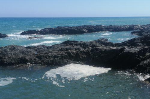Felsen der Cala Panizo
