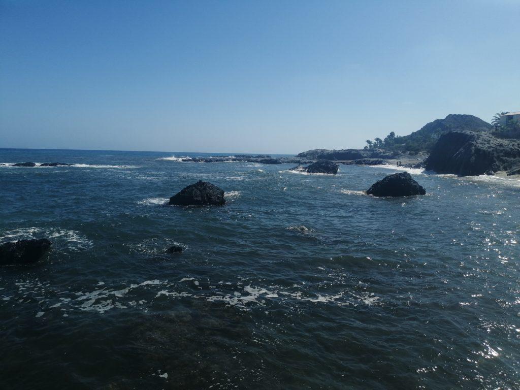 Steine in der Cala Panizo
