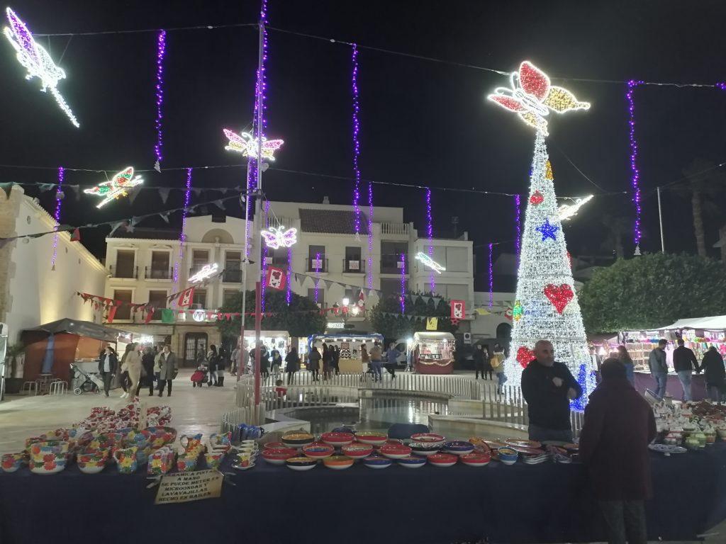 Mittelaltermarkt in der Vorweihnachtszeit
